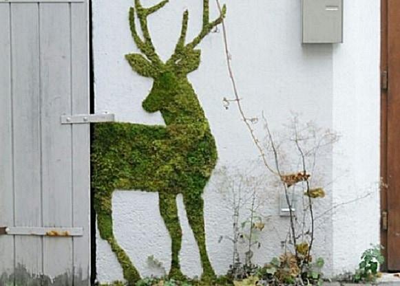 Замечательная идея! Очень стильный дизайн стены!!!