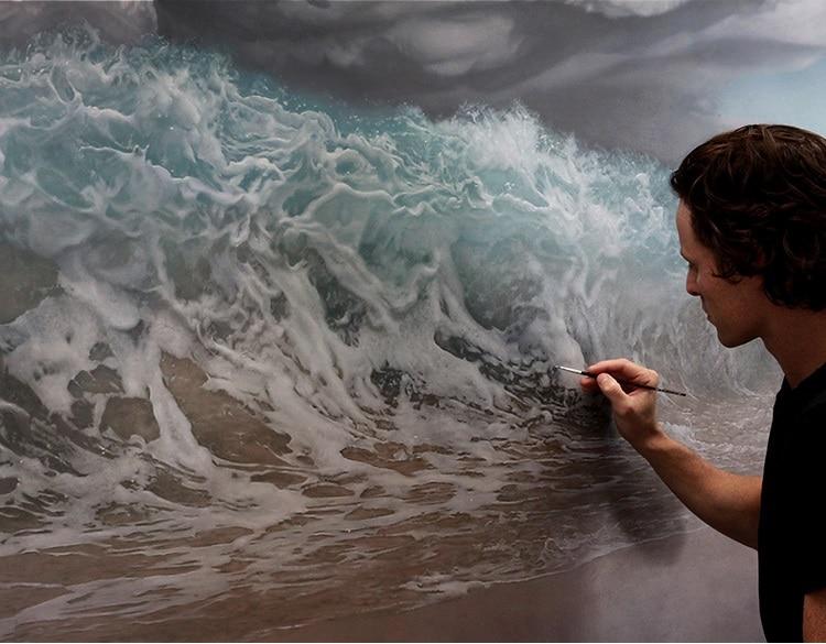 Удивительные, реалистичные картины, написанные рукой талантливого художника! Почувствуйте их энергию!