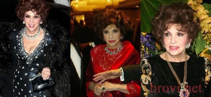 Несравненная Джина Лоллобриджида — в этом году ей будет 90!