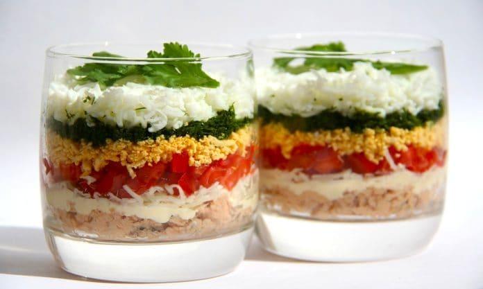 5 фитнес-салатов, от которых живот будет плоским!
