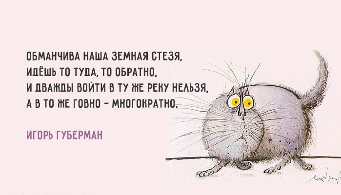 Хлёсткие «Гарики» Игоря Губермана. В яблочко о жизни.