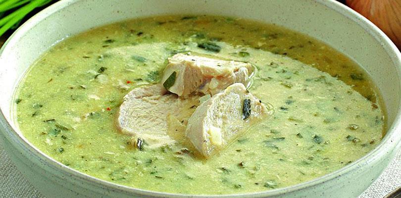 Куриный суп по-грузински. Хочется еще и еще...