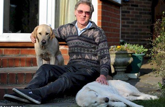 Он не бросил слепое животное потому-что знал — каково быть не таким, как все...