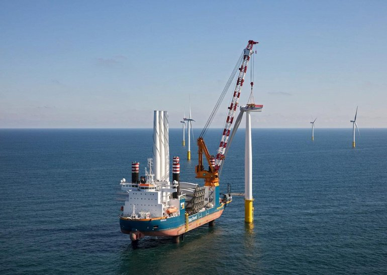 Вторая по величине ветряная электростанция мира открылась в Нидерландах.