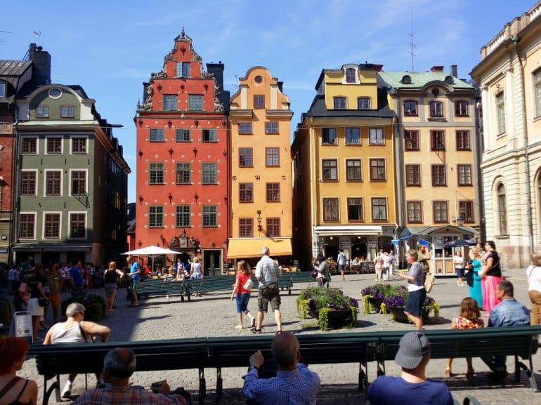 Наиболее интересная часть Стокгольма - Гамла Стан.