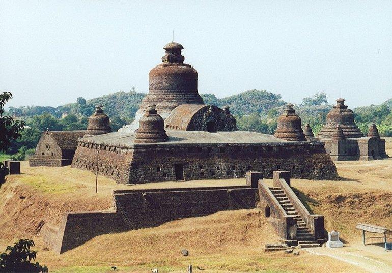 Неизведанная Мьянма: древние руины Мраук-У! Загляденье для туристов!!!