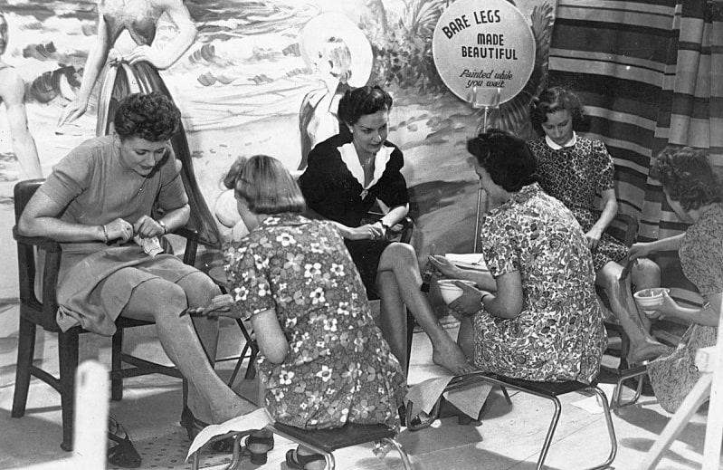 """Тренд """"бритые ножки"""" появился во время Второй мировой войны в США!"""