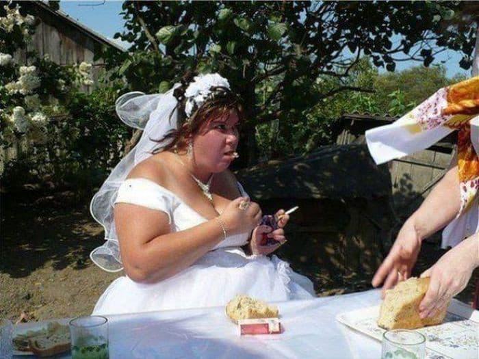 Тот самый случай, когда свадебные фото лучше не смотреть!