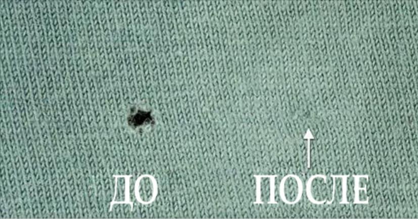 С помощью этого совета можно избавится от дырок без зашивания!