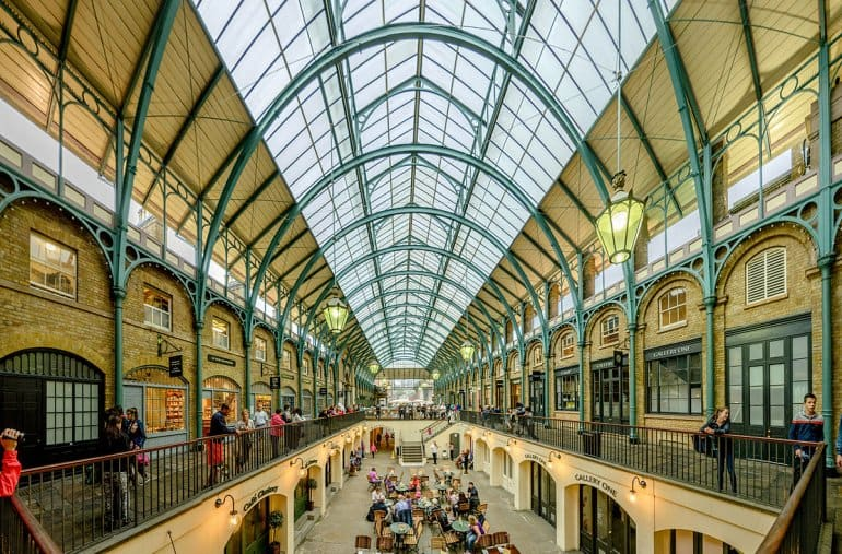 Ковент-Гарден - место Лондона, которое должен посетить каждый.