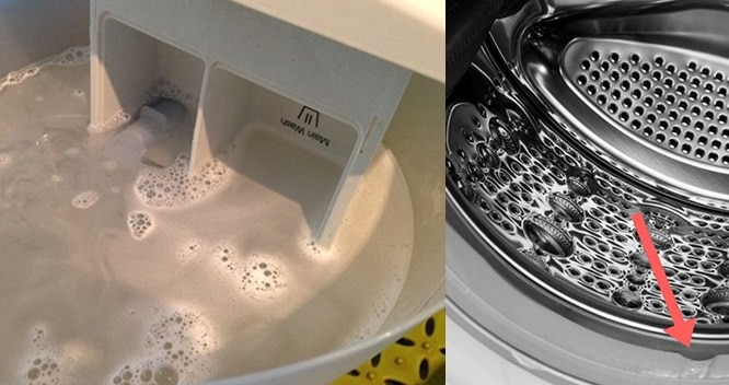 5 трюков, благодаря которым стиральная машинка всегда будет чистой.