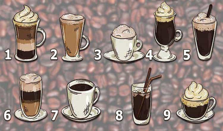 Тест - подсказка от Вселенной. Выберите кофе и узнайте кое-что интересное.