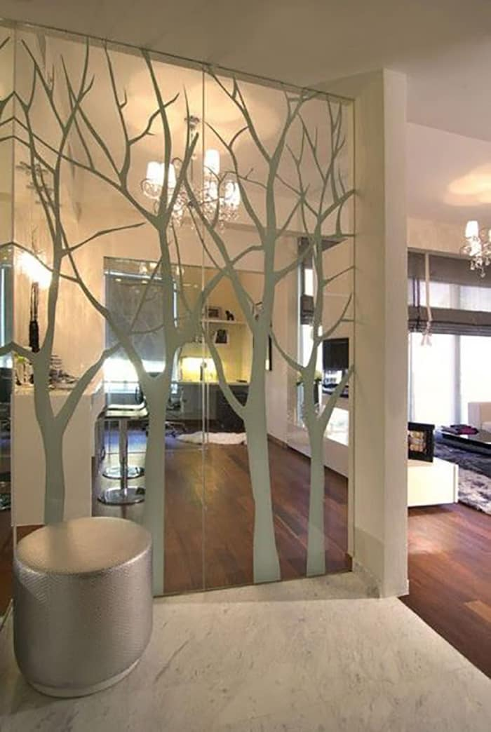 Идеи интерьер стекло