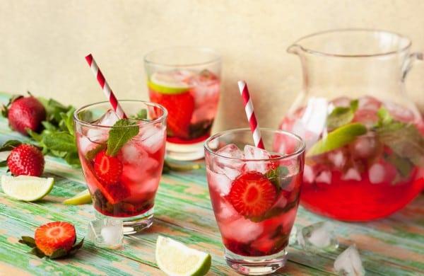 5 потрясающих рецептов освежающих лимонадов!
