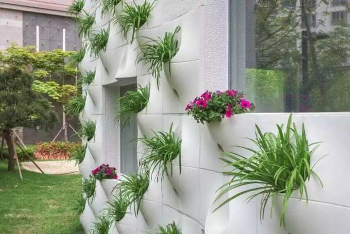 Странный дизайн стены сразу вызвал удивление соседей, но потом... они обзавидовались!