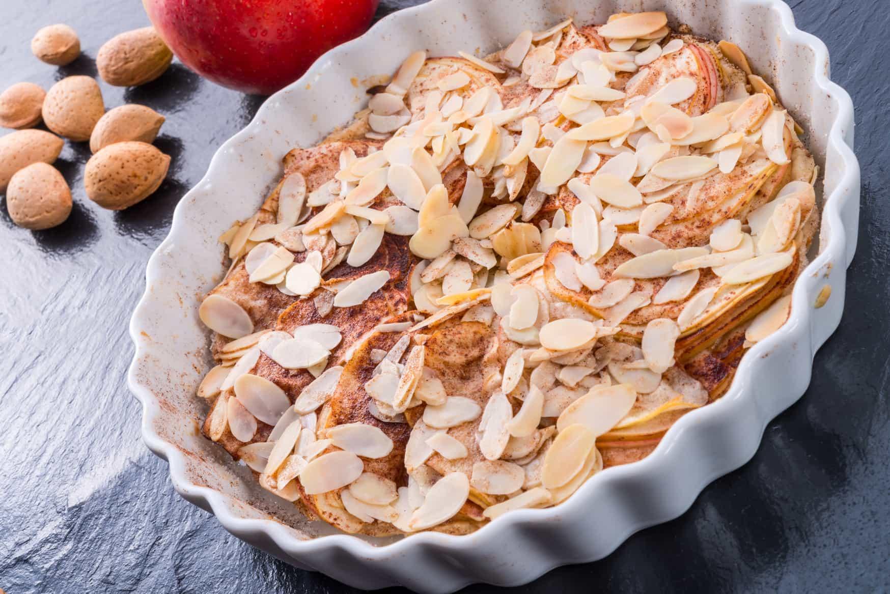 Яблочный пирог с творожным сыром. Рецепт баварских хозяек!