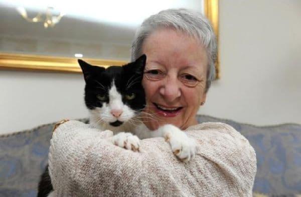 Кот диагностировал болезнь на ранней стадии и помог женщине сохранить жизнь.