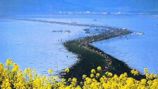 Библейское чудо: каждый год в в море открывается дорога всего на несколько часов!