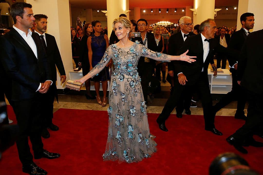 Джейн Фонда блистала на Венецианском фестивале! И кто ей даст 80 лет!
