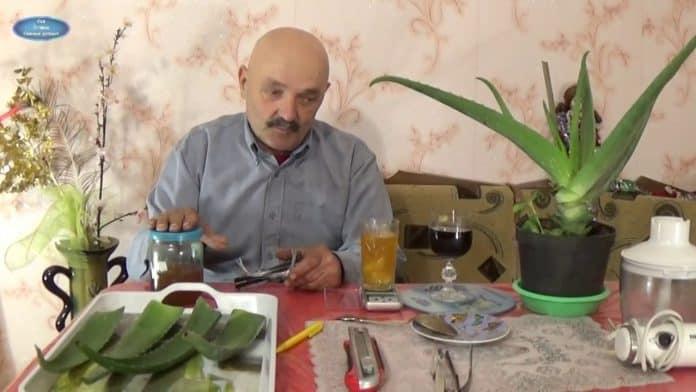 Нашумевший рецепт бразильского монаха из алоэ! Дело в пропорциях!