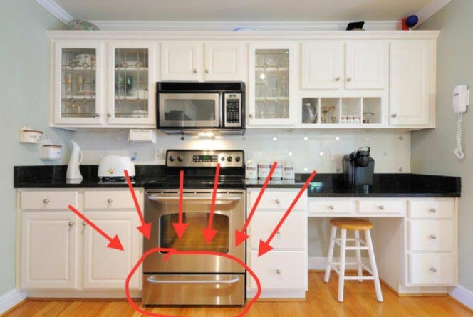 А вы уверены, что правильно используете выдвижной ящик под духовкой?