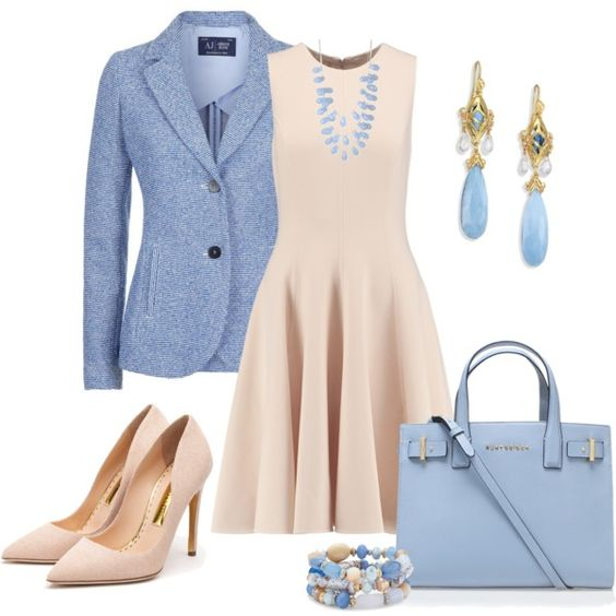 Свежие идеи, с чем можно носить платья и юбки! Очень элегантно и женственно!