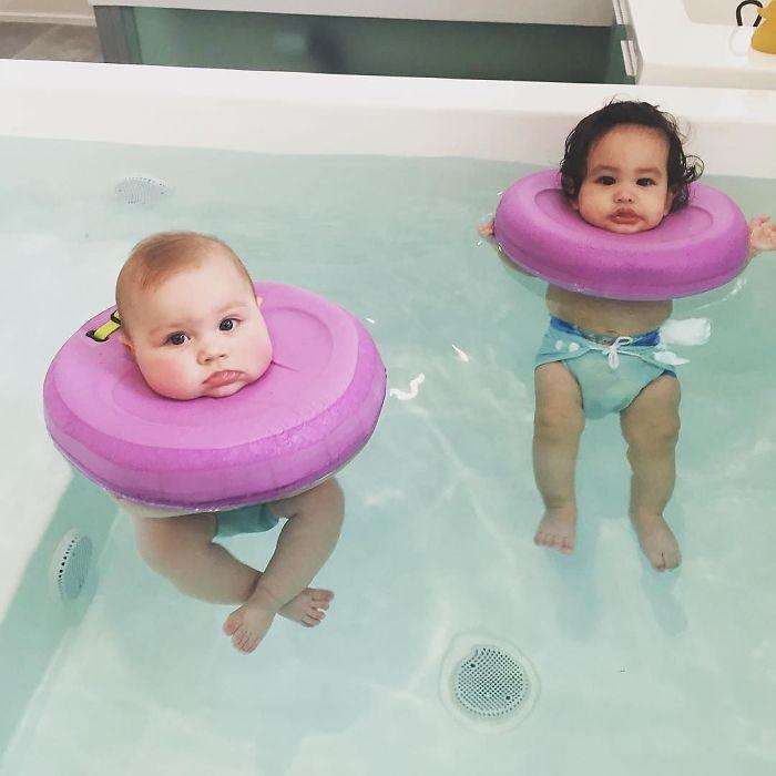 Очаровательные фото из СПА-салона для малышей. Вот это сервис в Австралии!