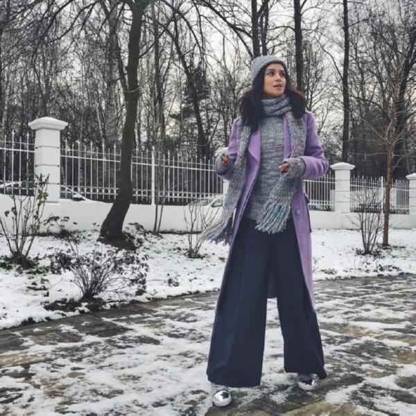"""Равшана Куркова беременна! Первые фото актрисы с """"животиком""""."""