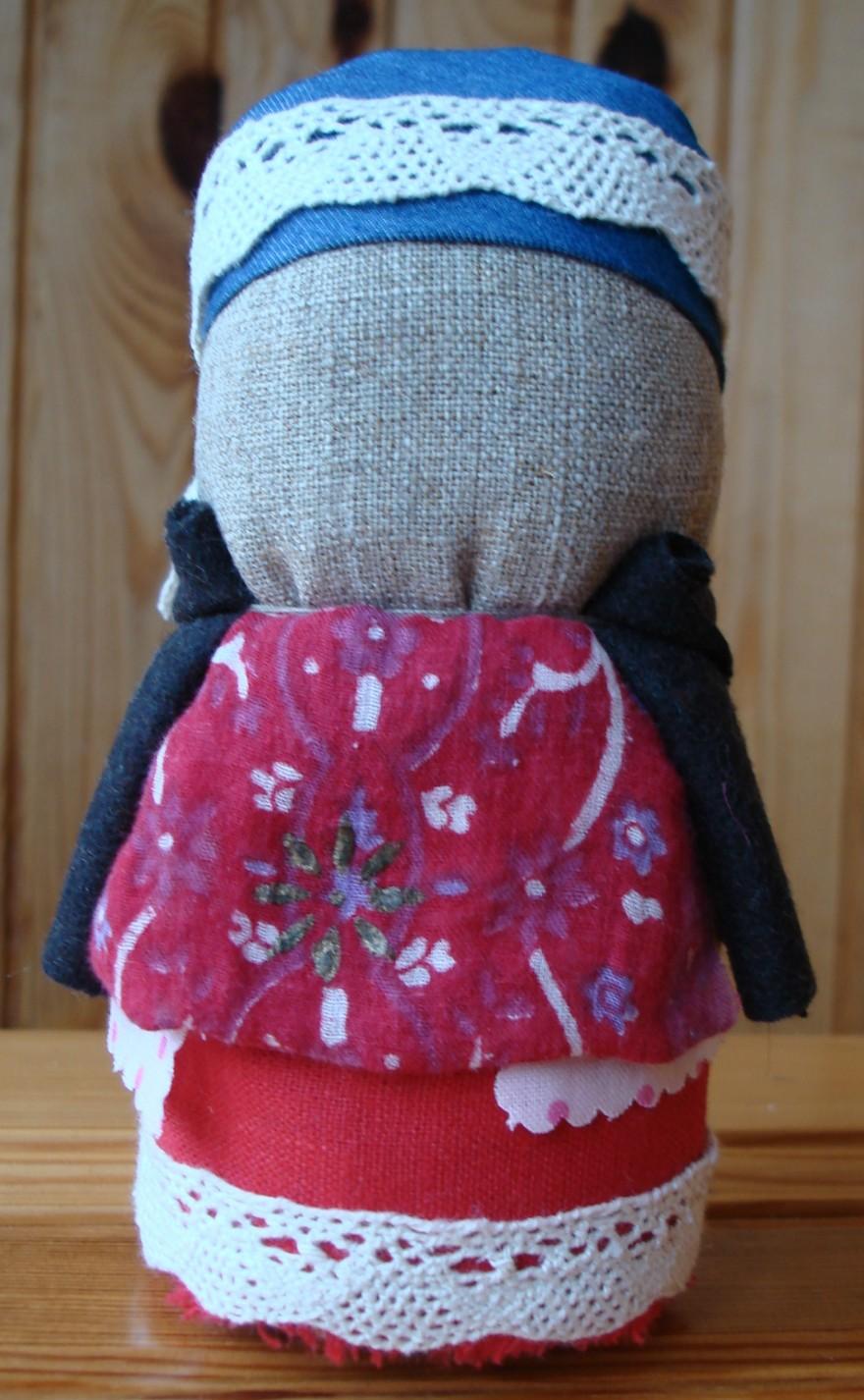 Этот оберег принесет счастье в дом! Делаем куклу Зерновушку своими руками.