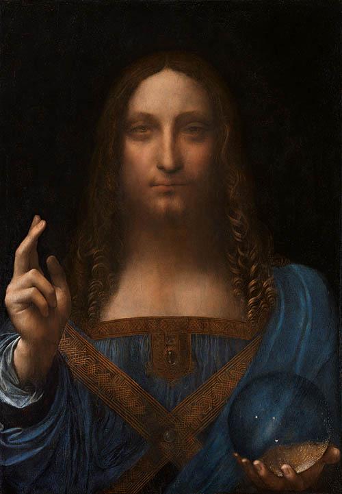 """Последняя работа Леонардо да Винчи """"Спаситель Мира"""". Это полотно вызывает сильные эмоции!"""
