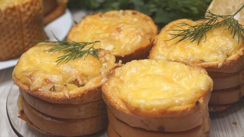 Пирожки ленивые: готовятся без муки и теста, вкуснее многих бутербродов.