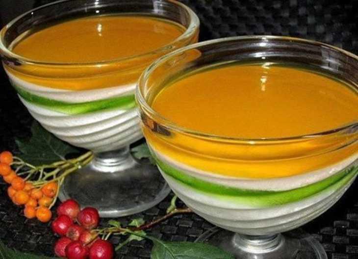 5 самых вкусных рецептов желе - любимого лакомства советских детишек.