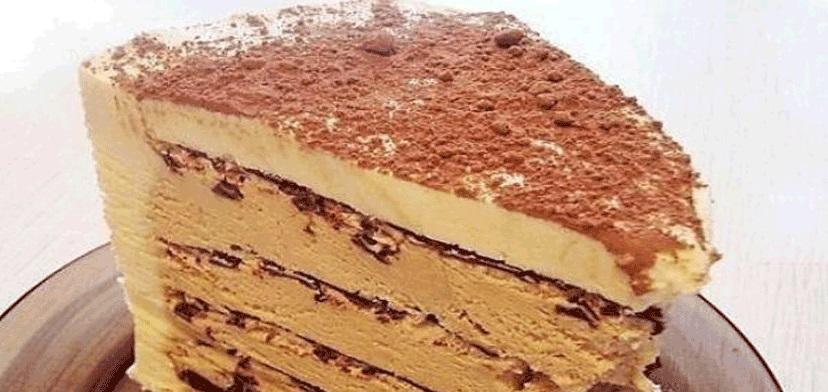 """Торт """"Кофе с шоколадом"""" без выпечки. Справится даже начинающая хозяйка."""