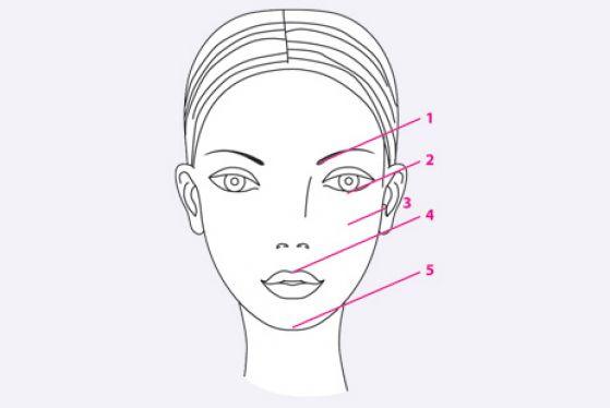 Макияж по принципу 5-ти параллельных линий превратит женщину в девчонку!