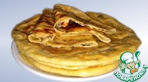 Этот рецепт сырных лепешек я привезла с Кавказа! Моя семья их обожает.