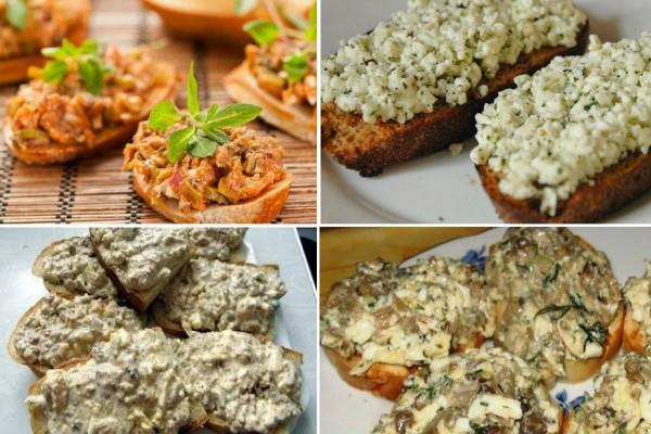 12 вариантов вкусной намазки на хлеб!