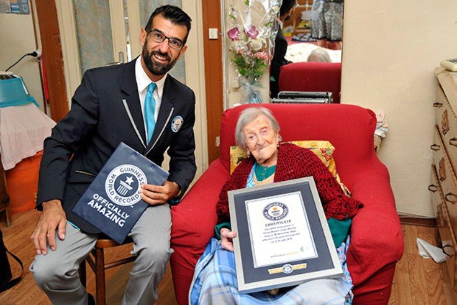 Секрет долголетия Эммы Морано. Она прожила 117 лет!