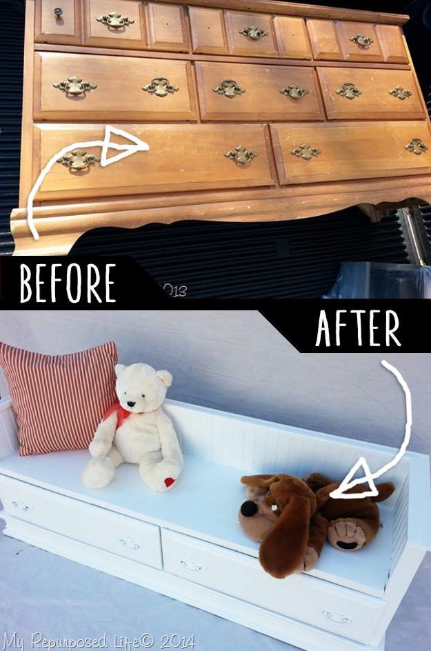Как превратить старую мебель в стильную и современную?