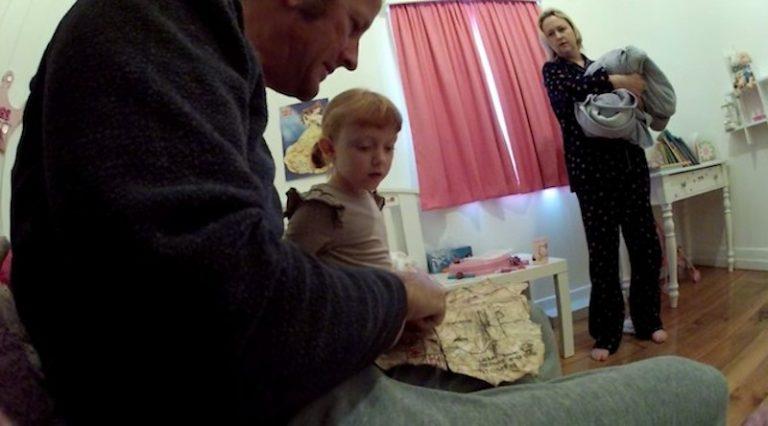Потрясающий сюрприз получила 6-летняя девочка от папы ко дню рождения!