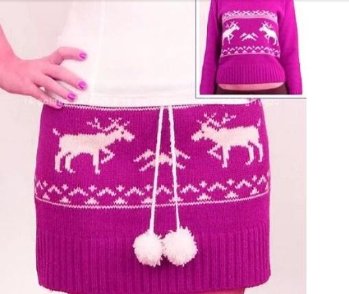 """У вашего старого свитера может быть новая """"жизнь""""! Полезный лайфхак."""