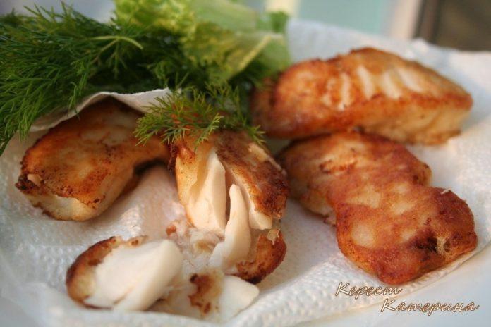 Очень вкусная и нежная рыбка в кляре!
