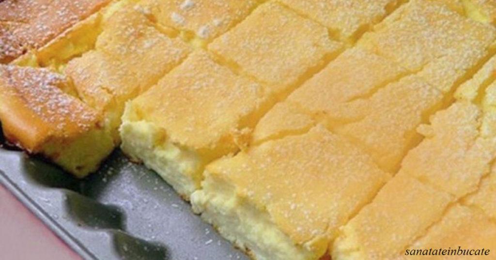 Торт для ленивых: просто всё смешайте и отправляйте в духовку! Очень вкусно!