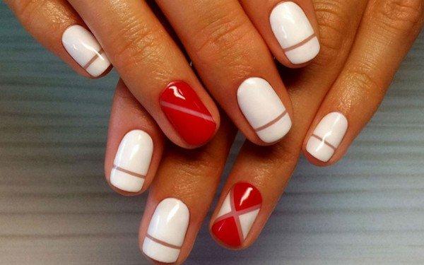 Короткие ногти снова в моде! 24 идеи маникюра.