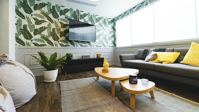 идеи интерьера гостиной комнаты
