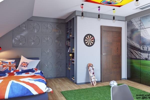 Стеновые панели для детской комнаты. A&E