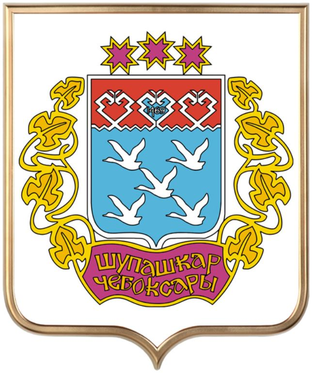 Откуда произошло название города Чебоксары. Геральдика и краткая история города.