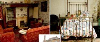 Дом-призрак: место, где время будто застыло на месте!