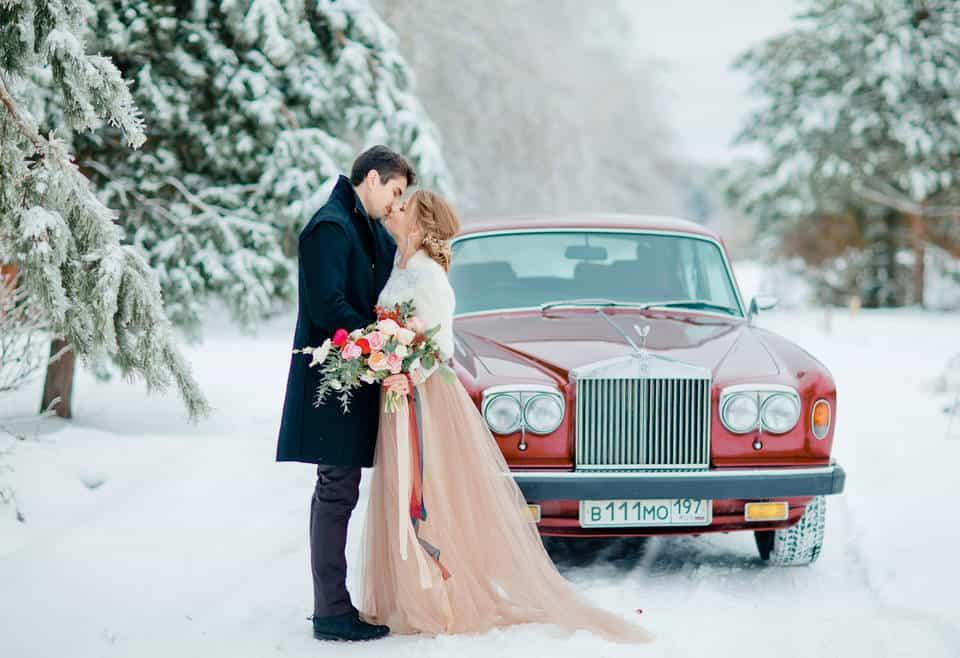 Свадьба зимой: как выбрать зимние свадебные платья и не замерзнуть!