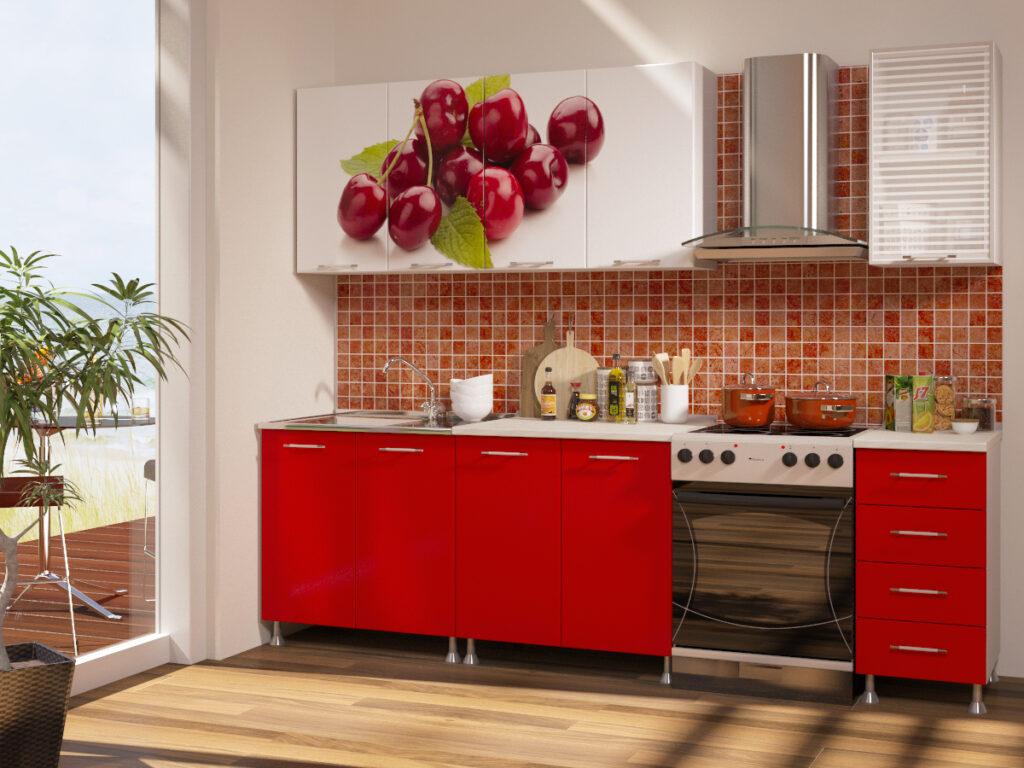 Кухня с фотопечатью: какие преимущества и способы нанесения!