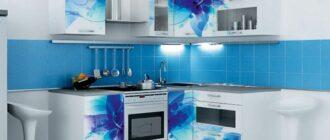 Кухня с фотопечатью, какие преимущества и способы нанесения